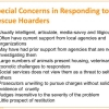 Special Concerns in Responding to Rescue Hoarders