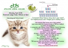 Talking TNR - Athlone Animal Welfare